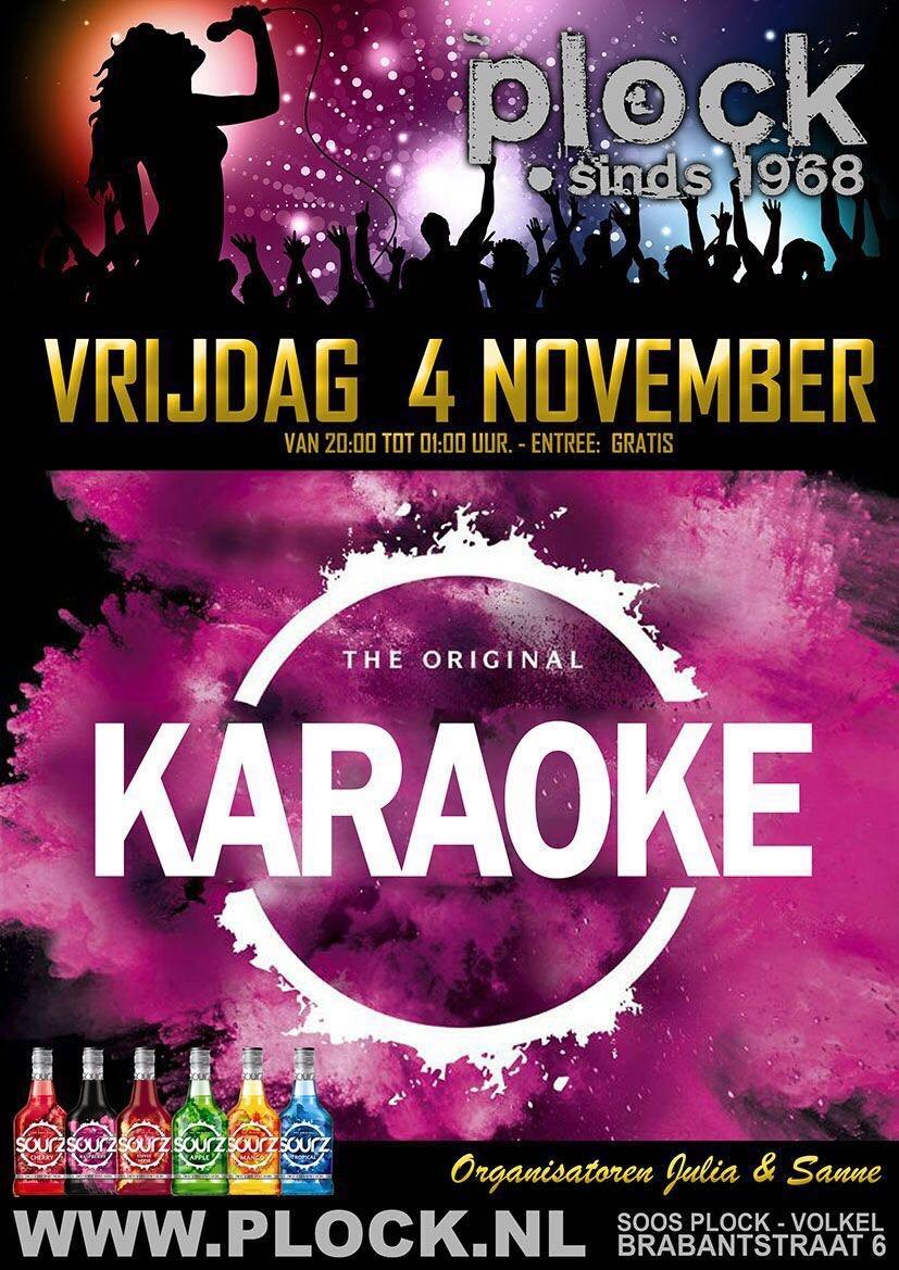 Karaoke 4 November '16